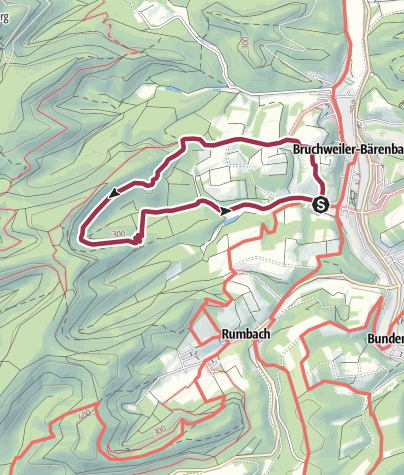 Karte / Schlangenberg-Tour