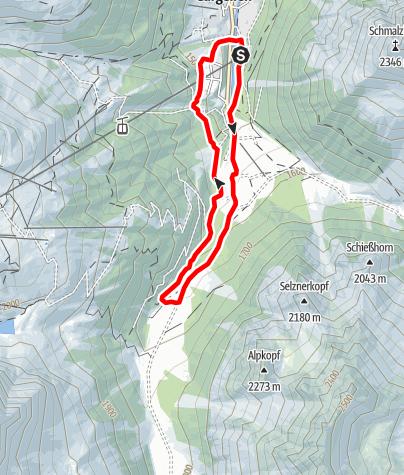 Map / Valzifenz-Lauf Gargellen