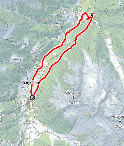Map / Suggadin-Tour Gargellen