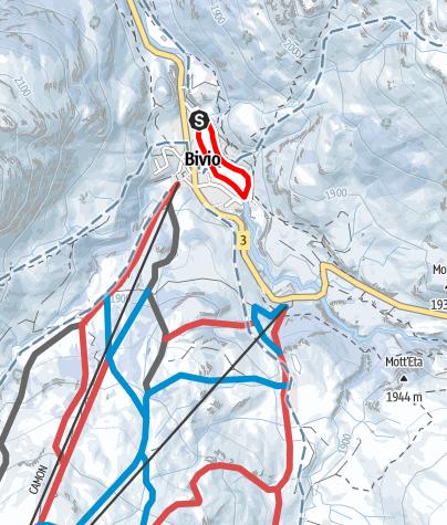 Karte / 273 Gravella - Loipe