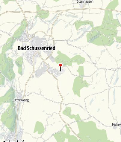 Karte / Oberschwäbisches Museumsdorf Kürnbach