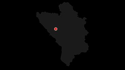 Mapa / B&B Simovića kuće