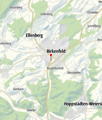 Karte / Bistro Us´ Ding, 55765 Birkenfeld