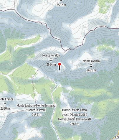 Karte / RIFUGIO P.F. CALVI - Sappada