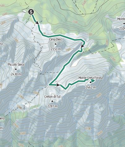 Map / 01 CRETA FORATA  - Sappada