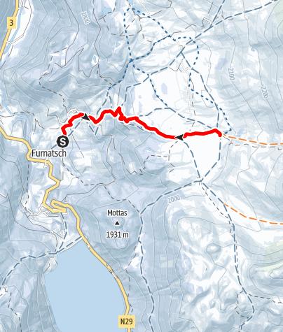 Map / Alp Flix - Sur