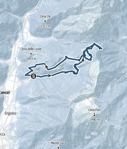 Map / Ski alp Pernici