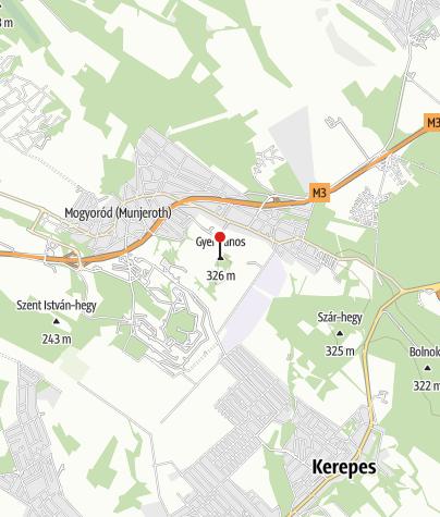 Mapa / Szent László-kilátó (Mogyoród)