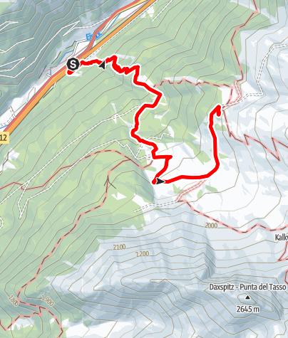 Mapa / Ziroger Alm und Enzianhütte