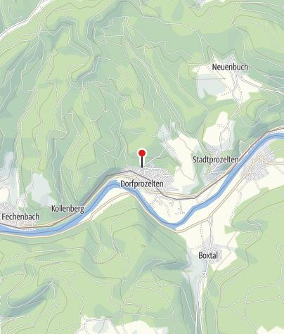 """Karte / Häckerzeit bei """"Weinbau Prechtl"""", Dorfprozelten"""