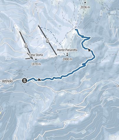 Map / Ciaspole Alla Bassa