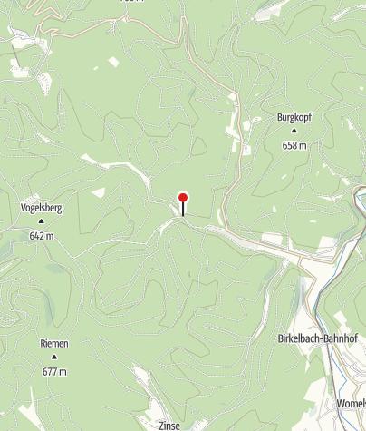 Karte / Naturschätze heimliche Bewohner Schwarzbachtal