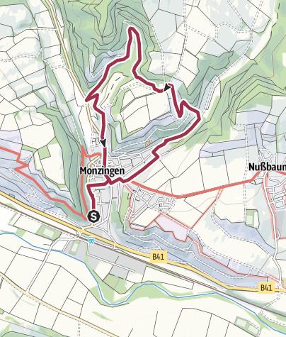 Karte / Kronenbergweg