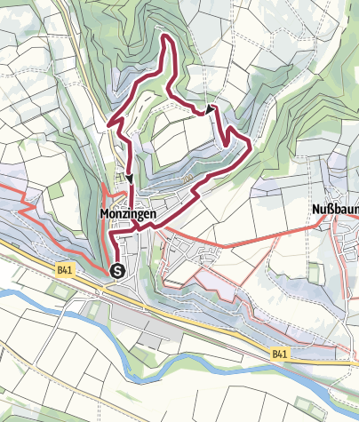 Carte / Kronenbergweg