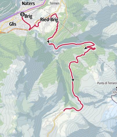 Map / Simplon Pass – Legendary Mountain Passes