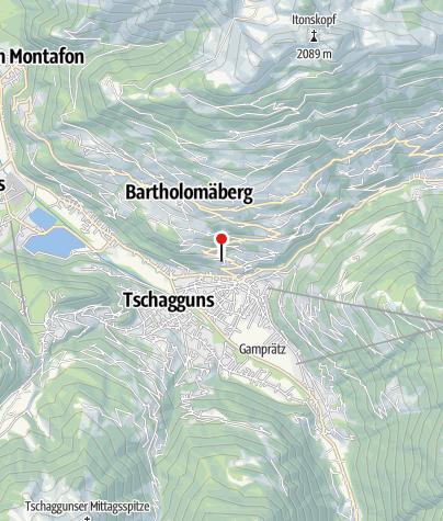 Karte / Ferienappartement Wachter