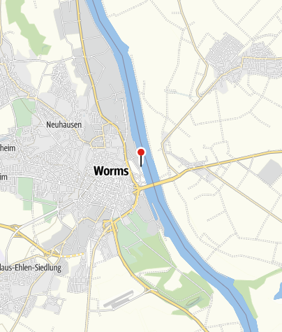 Map / Strandbar 443 in Worms am Rhein