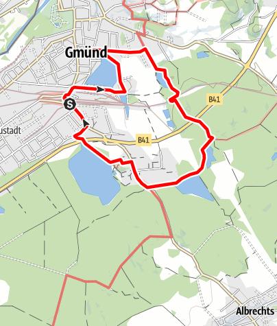 Mapa / Teichkettenweg