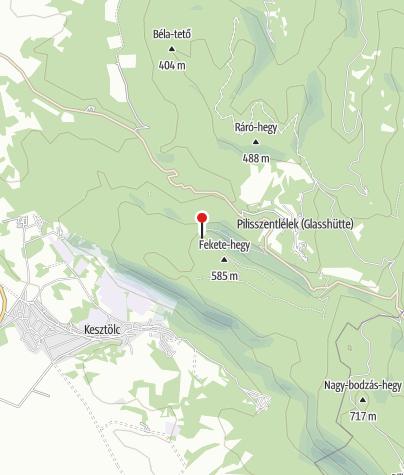 Mapa / Fekete-hegyi Kulcsosház