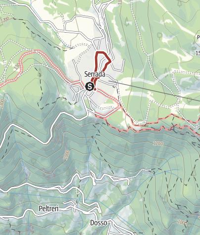 Cartina / Passeggiata Futurista