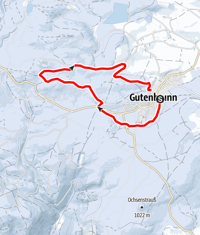 Karte / Zwettlsteinloipe