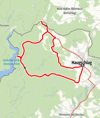 Map / Meridianweg-Rundwanderweg