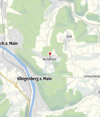 """Karte / Häckerzeit in der Mechenharder """"Woischeuer"""", Erlenbach"""