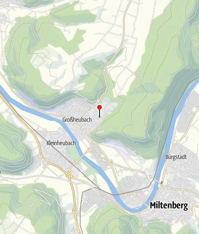 """Karte / Häckerzeit bei """"Weinbau Mechler"""", Großheubach"""