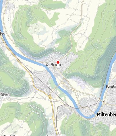 """Karte / Häckerzeit bei """"Weinbau Grosch"""", Großheubach"""