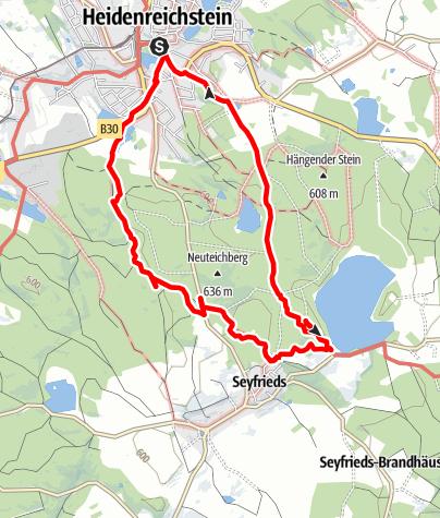 Map / Winkelauerteich-Wanderweg