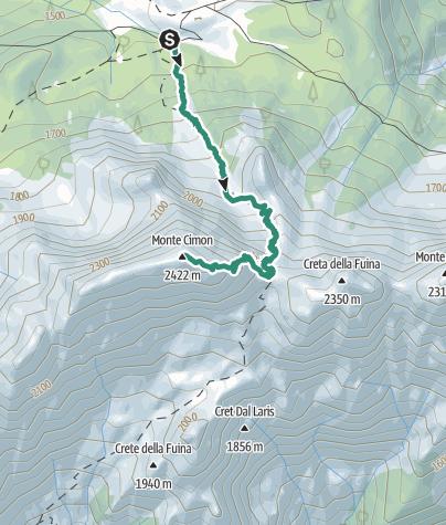 Map / 02 MONTE CIMON - Sappada