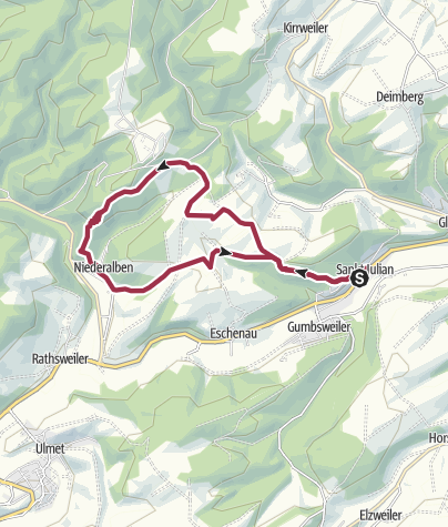 Map / Sankt Julian - Mittagsfels