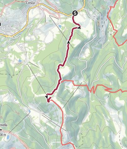 Cartina / Passeggiata al Rifugio Stella D'Italia