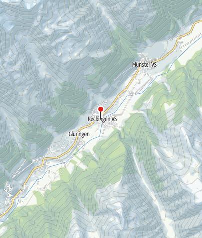 Karte / Historischer Dorfkern von Reckingen