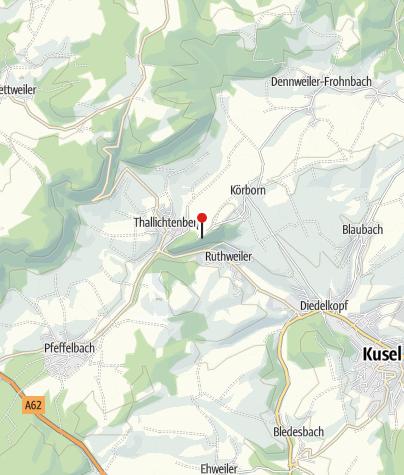 Carte / Veldenztor mit Infotafel, Thallichtenberg