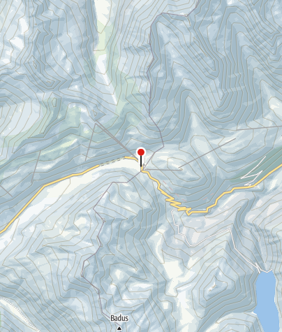 Karte / Restaurant Piz  Calmot