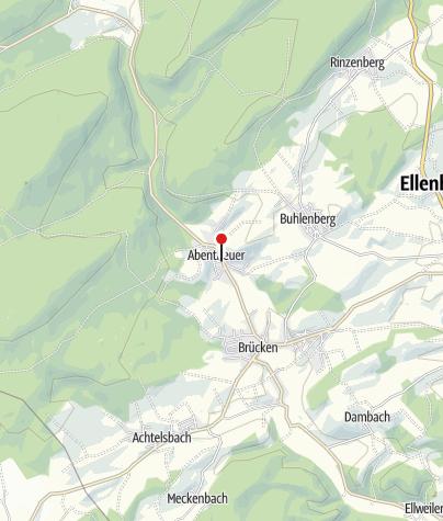 Karte / Wasserspielplatz, 55767 Abentheuer