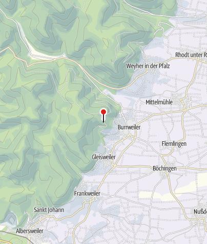 Karte / Hütte Pfälzerwald-Verein Burrweiler (St. Annahütte)