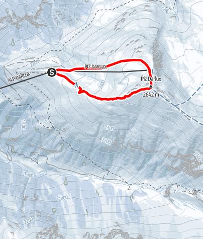 Map / 527 Darlux Snowshoe Trail