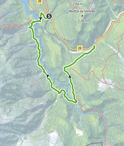 Map / Nationalpark: Stille Wanderung durch's Spöltal