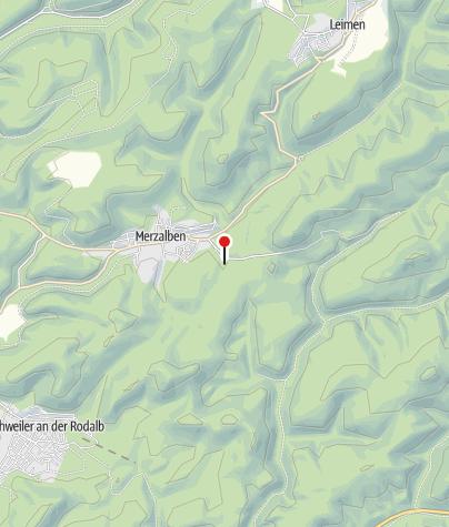 Karte / Hütte Pfälzerwald-Verein Merzalben (Gräfensteinhütte)