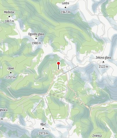 Map / Eco katun Vranjak