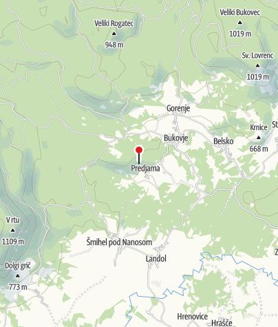 Mapa / Predjama Castle