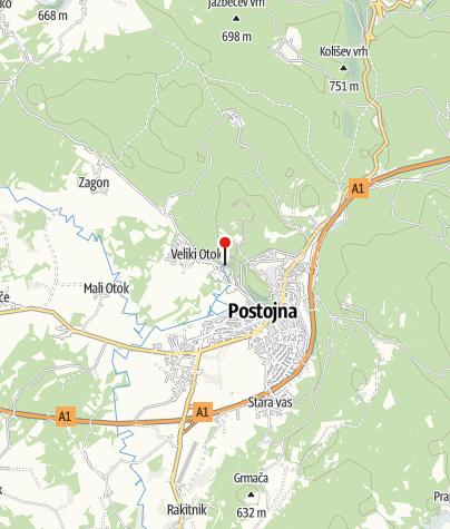 Map / Postojna Cave