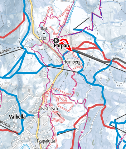 Map / Triangel Tour Parpan