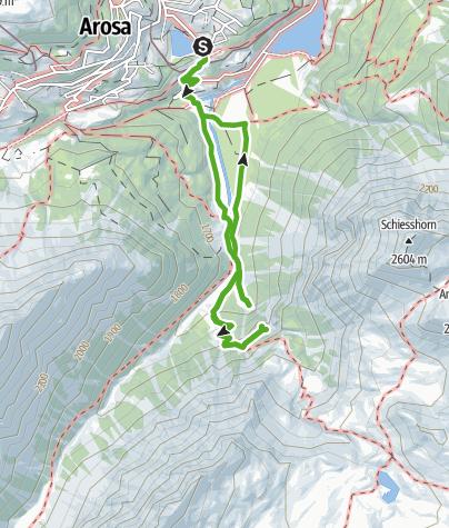 Karte / Untersee - kleiner- / grosser Alteinerwasserfall - Isel - Untersee