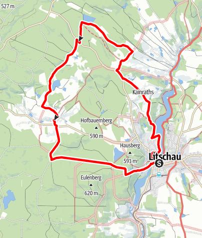 Map / Zum Graselstein - Dachsengraben