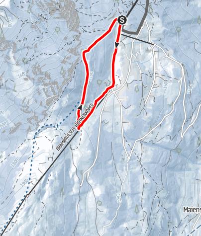 Karte / 534 Spundis Trail (GR 7)