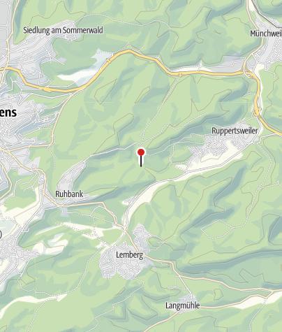 Karte / Hütte Pfälzerwald-Verein Pirmasens-Starkenbrunnen