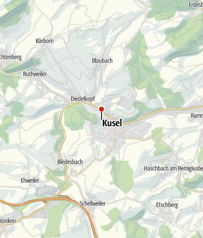 Map / Wohnmobilstellplatz An den Tuchfabriken